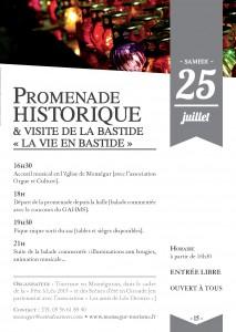 Promenade Historique et Visite de la Bastide