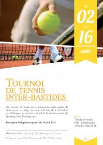 Tournoi de Tennis Inter- Bastide