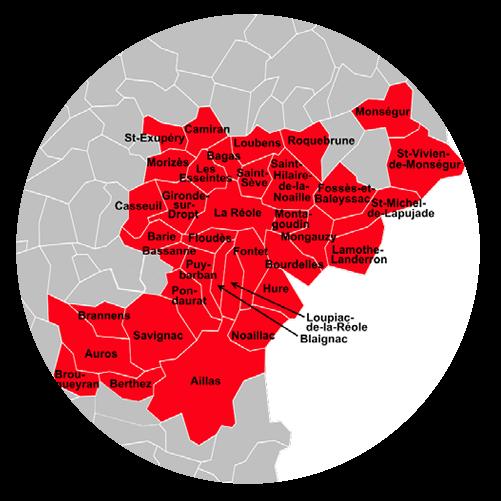 Communauté de communes du Réolais en Sud Gironde