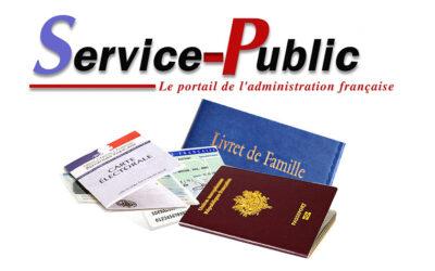 Service Public | Démarches Administratives