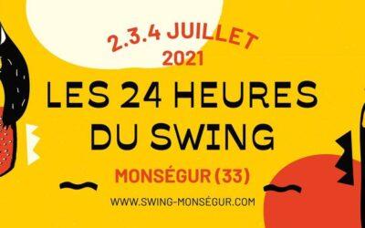 31ème Édition Les 24 heures du swing 2021 | 2-3-4 Juillet 2021
