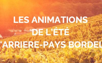 Programme des  animations estivales en Entre-deux-Mers